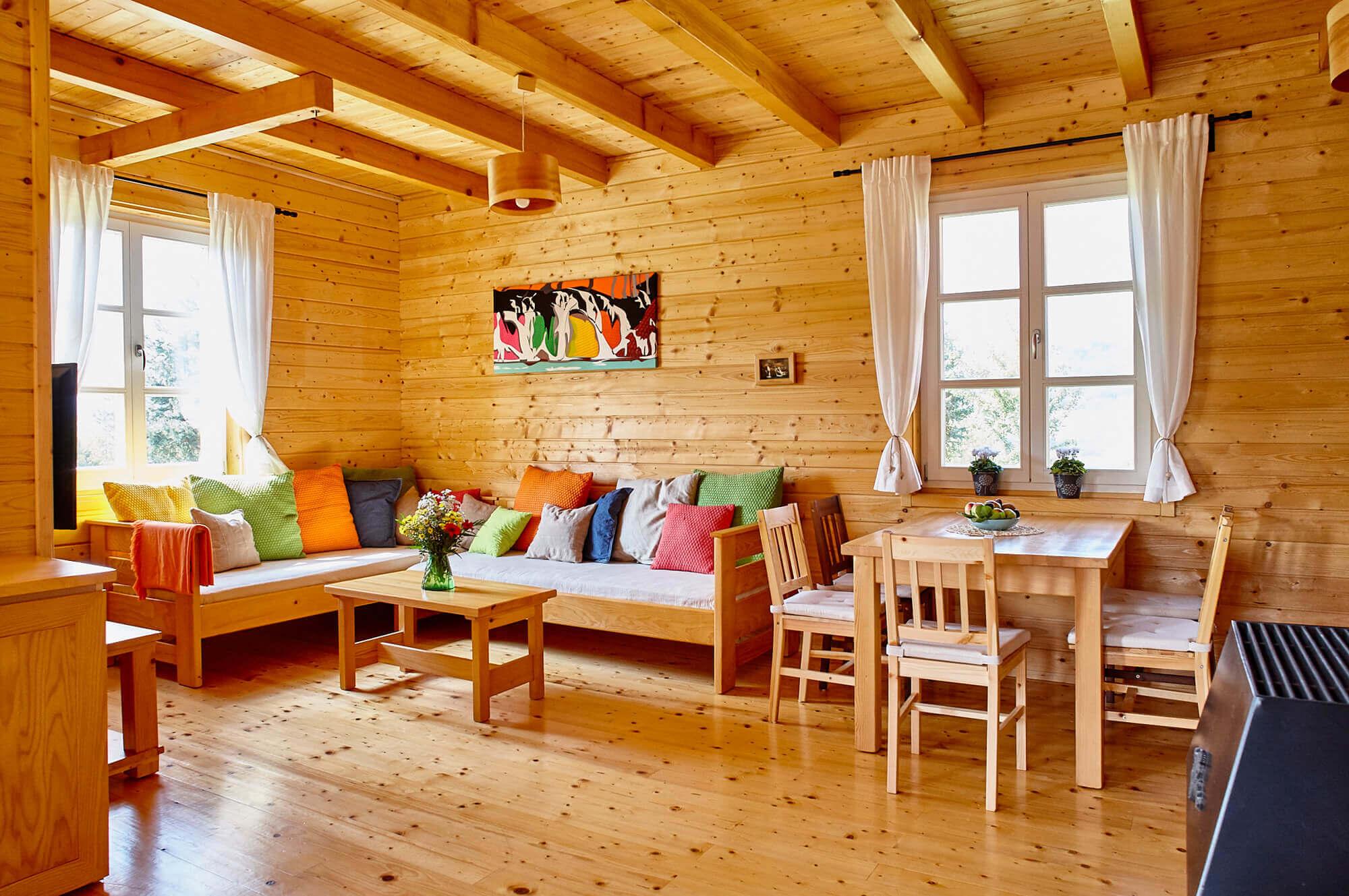 ljepotu i miris šume prenijeli smo u našu drvenu kuću-temelj zdravog življenja